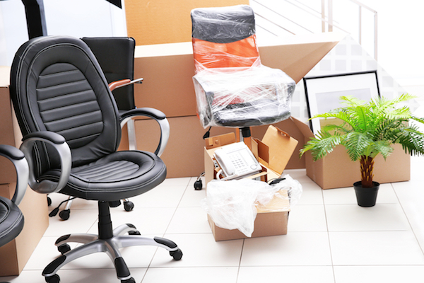 We're the office liquidators who package and move the furniture you want to sell